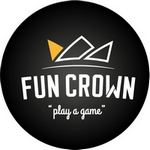 Fun Crown PlayStation Cafe Logo